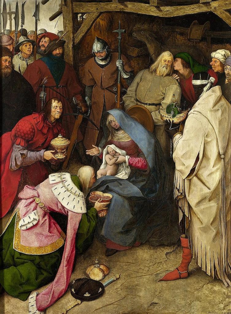 pieter breugel starszy pokłon trzech króli 1564.jpeg