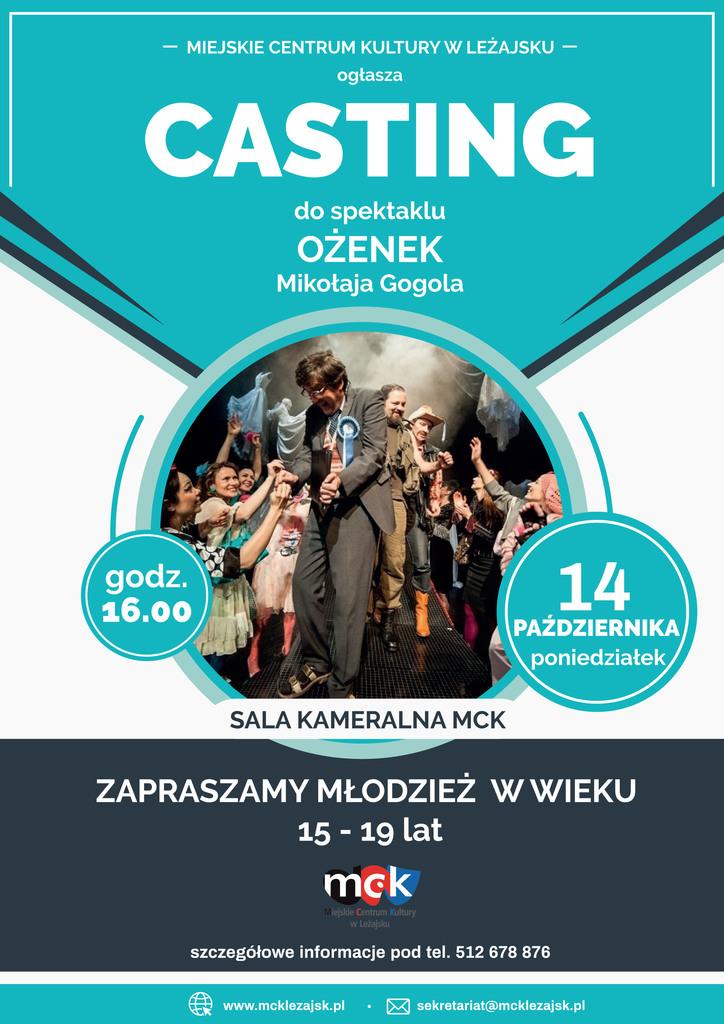Plakat casting Ożenek.jpeg