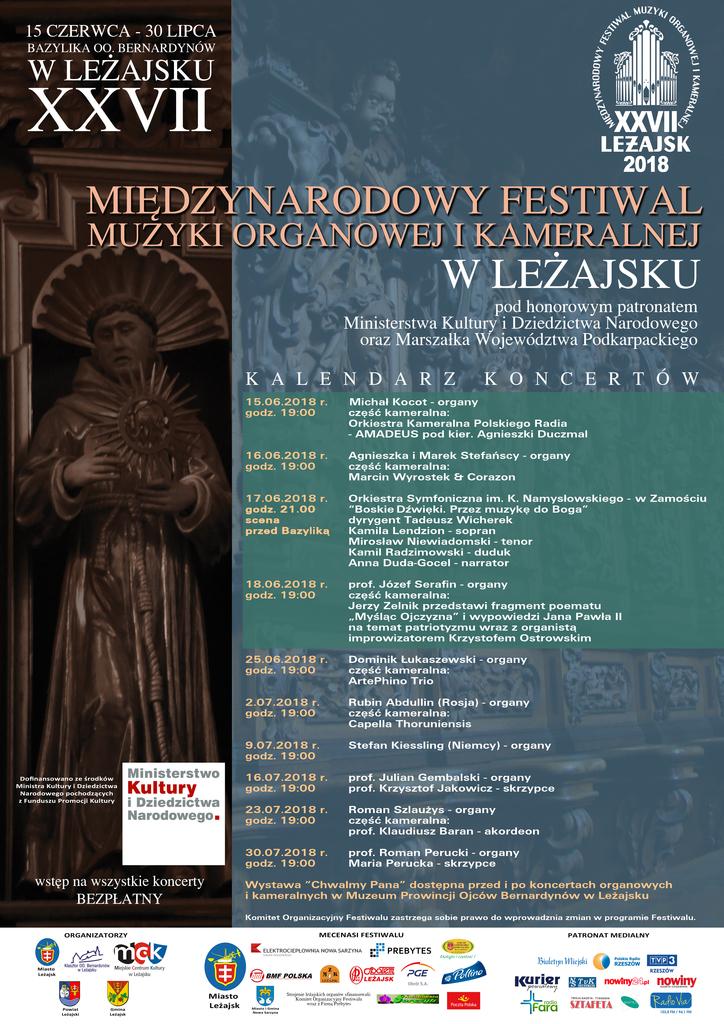 XXVII MFMOiK w Leżajsku - plakat.jpeg