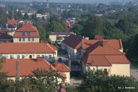 Galeria Leżajsk z lotu ptaka